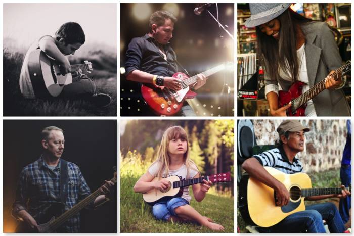 guitar lessons London teachers - Bruce Music