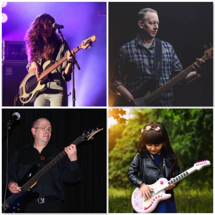 Bass guitar lessons London - Bruce Music