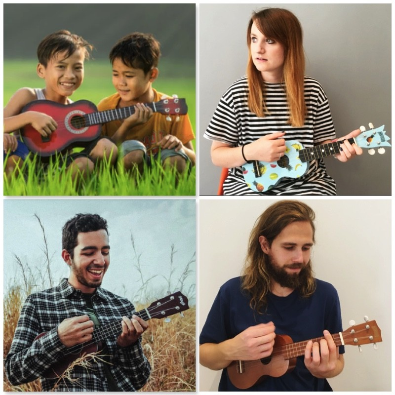 ukulele lessons all ages - Bruce Music