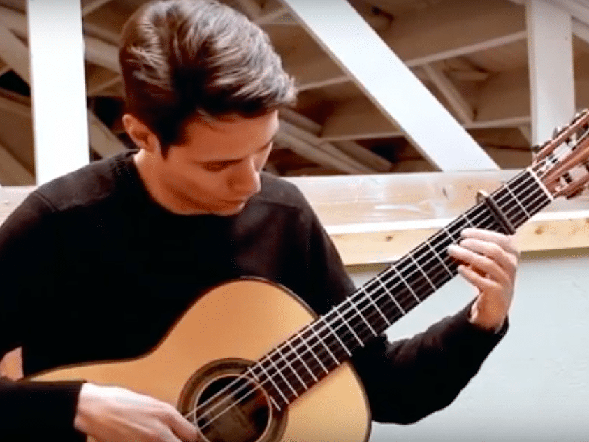 classical guitar lessons bruce music