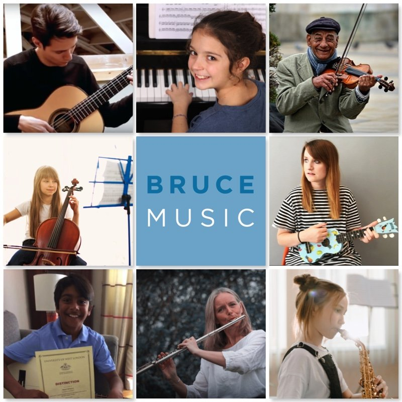 music students - bruce music