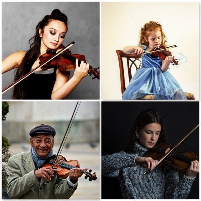 violin tuition london - bruce music