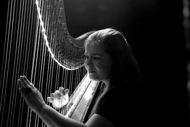 harp lessons in london with Bruce Music