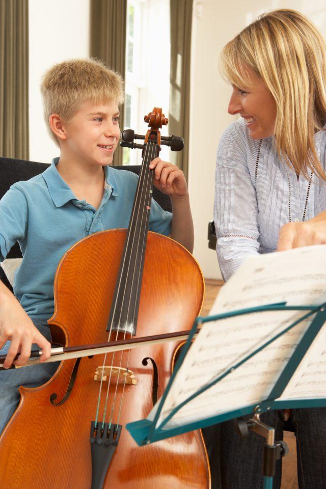 cello teacher London